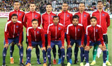 बंगलादेशमा नेपाली राष्ट्रिय फुटबल टिमको अभ्यास सुरु