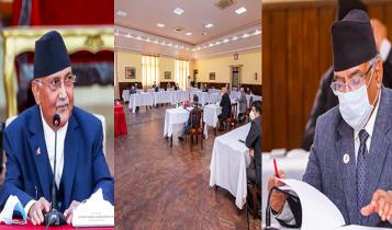 प्रधानमन्त्री ओलीको नयाँ प्रस्तावः पार्टीको एकता महाधिवेशन मंसिरमा गरौं