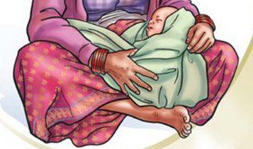 नवजात शिशुमा कोरोना भाइरसको संक्रमण, क्वारिन्टनमै जन्मिएका थिए