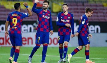 घरेलु मैदानमा बार्सिलोना विजयी