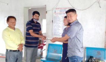 आफ्नो जन्मदिनमा सुमनले दिए 'आमाको माया' छात्रावासलाई रु २५ हजार