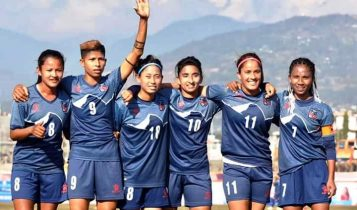 फिफाको महिला वरियतामा ९९औँ स्थानमा नेपाल