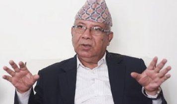 देउवालाई भेटे लगत्तै माधव नेपाल पुगे राष्ट्रपति भण्डारीलाई भेट्न शितल निवासमा