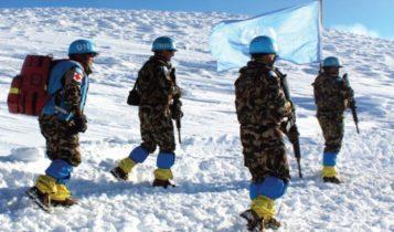 विश्वको सबैभन्दा अग्लो स्थानमा नेपाली शान्ति सैनिक तैनाथ
