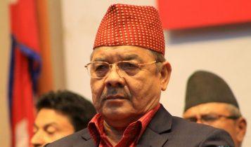 नेकपाका उपाध्यक्ष वामदेव गौतमको घोषणाः 'कुनै भेलामा जान्न'