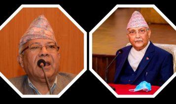 स्वेच्छाचारी बन्नुभो, दुवै पदबाट राजीनामा दिनुस्ः नेता माधवकुमार नेपाल