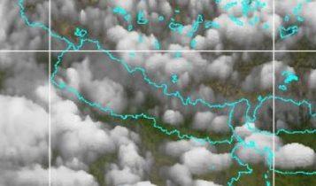 छत्तिसगढमा बनेको न्युन चापीय क्षेत्रका कारण नेपालभर वर्षा