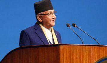 भूमि फिर्ताका लागि भारतसँग वार्ता हुन्छः प्रधानमन्त्री ओली