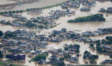 बाढीका कारण जापानमा मृत्यु हुनेको संख्या ५८ पुग्यो