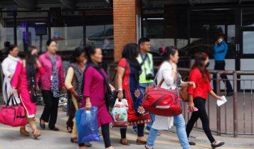 भारतको मणिपुरबाट २१ जना महिलालाई उद्धार गरि नेपाल ल्याइयो