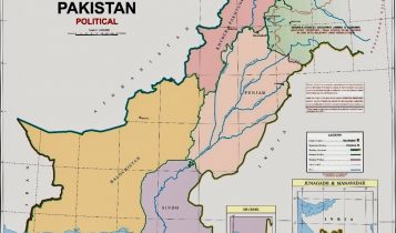 जम्मु काश्मीरलाई समेटेर पाकिस्तानले जारी गर्यो नयाँ नक्सा, भारतले भन्योः वैधता छैन