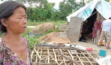कनकाई नदिको बाढीबाट बिस्थापित माइधारकी ताराको घर निर्माणमा हङकङबासीको १ लाख सहयोग
