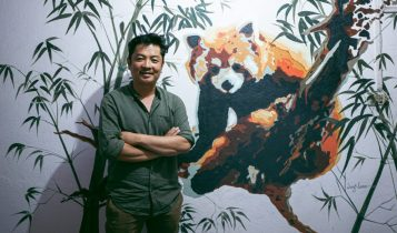 रेड पाण्डा नेटवर्क संरक्षण दूतमा अभिनेता दयाहाङ राई