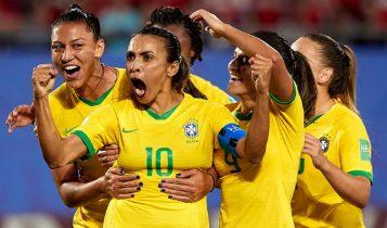 ब्राजिलको महिला र पुरुष खेलाडीलाई समान सुविधा