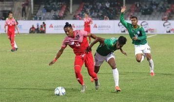 बंगलादेशसँगको पहिलो मैत्रीपूर्ण खेलमा नेपाल पराजित