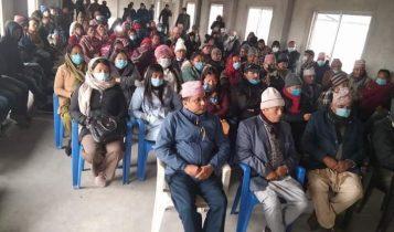 नेकपा प्रचण्ड-नेपाल समुहद्धारा कमल गाउँपालिकामा आन्दोलन समिति